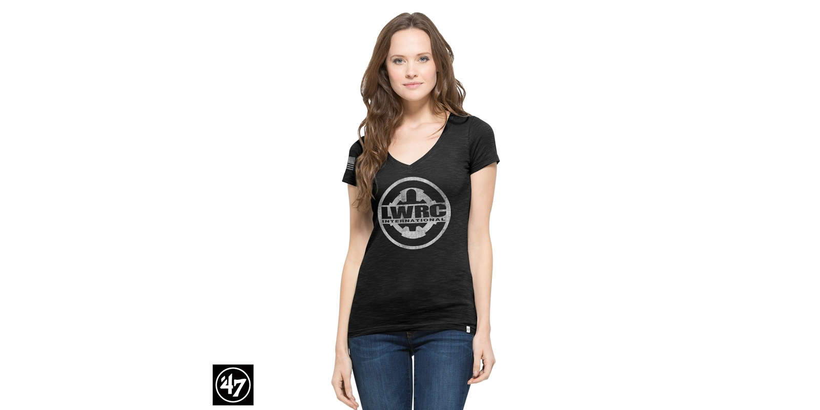 LWRCI Women's Vintage Tee Two Peat Scrum