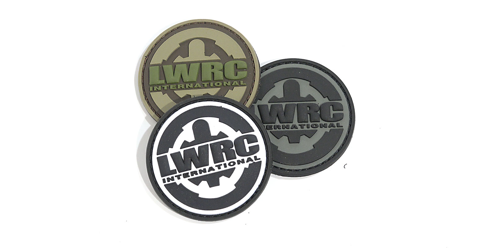 LWRCI LOGO PATCH 3-pk.