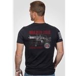 2019 LWRCI SMG NRA T-Shirt, Short Sleeve