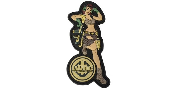 LWRCI Chicks Dig Pistons Patch