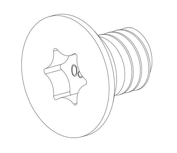 Rail and Accessory Mounting Screws (10ct)